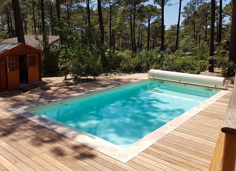 Aquitaine Piscines & Finitions - piscine de campagne Carcans Maubuisson