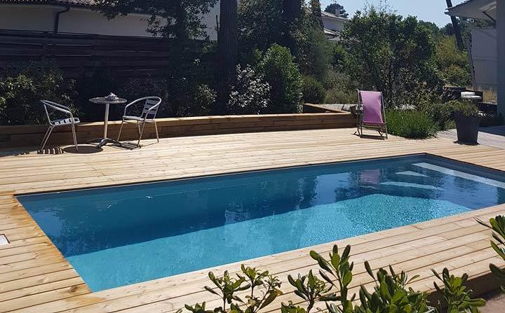 Aquitaine Piscines & Finitions-Piscine de campagne à Lège-Cap-Ferret