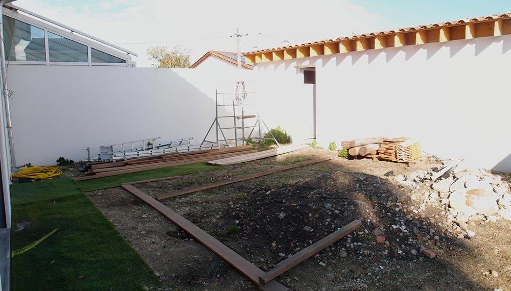 Aquitaine Piscines & Finitions - échoppe à Bègles travaux