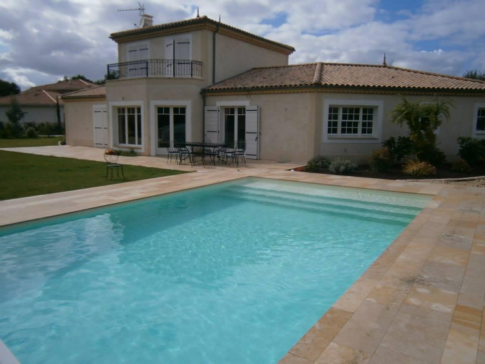 Aquitaine Piscines & Finitions - villa Arsac en Gironde