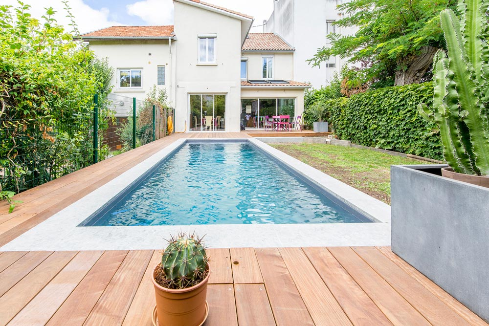 Aquitaine Piscines & Finitions - villa Bordeaux Caudéran