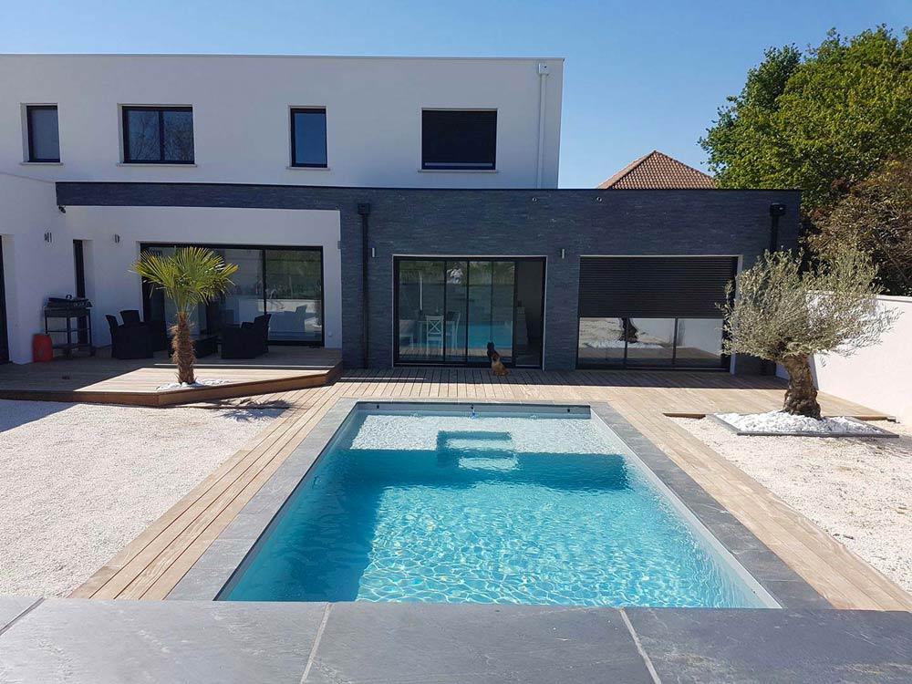 Aquitaine Piscines & Finitions - villa Yvrac en Gironde