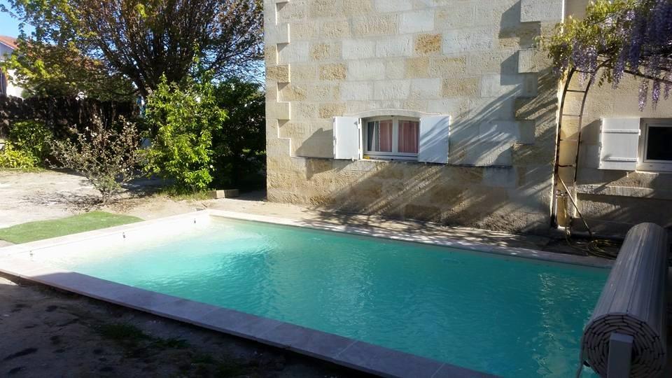 Aquitaine Piscines & Finitions - piscine maison de campagne à Pessac
