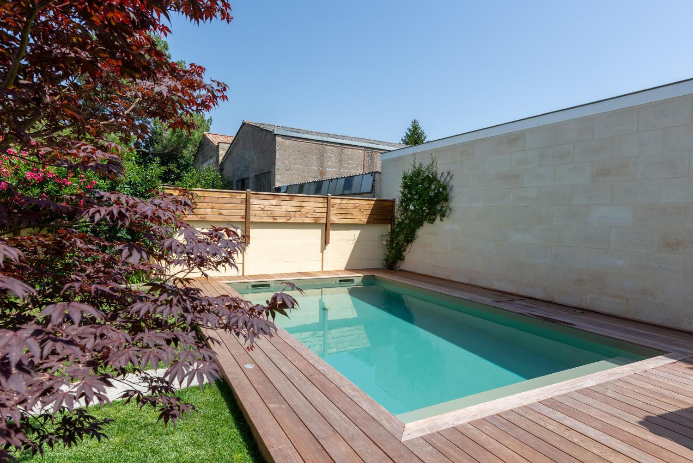 Piscine citadine - Echoppe à Bègles - DUHARD - Aquitaine Piscines & Finitions