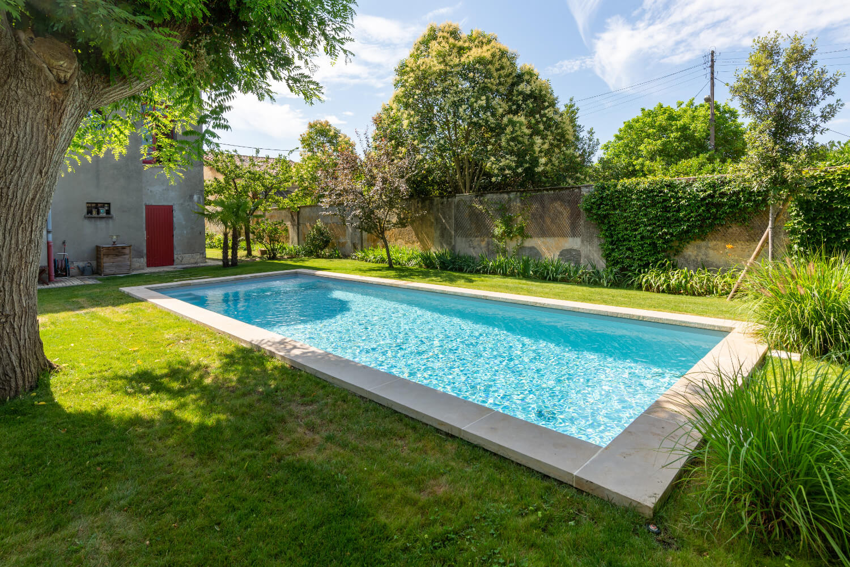 Piscine citadine - Echoppe à Bordeaux - BLONDET - Aquitaine Piscines & Finitions