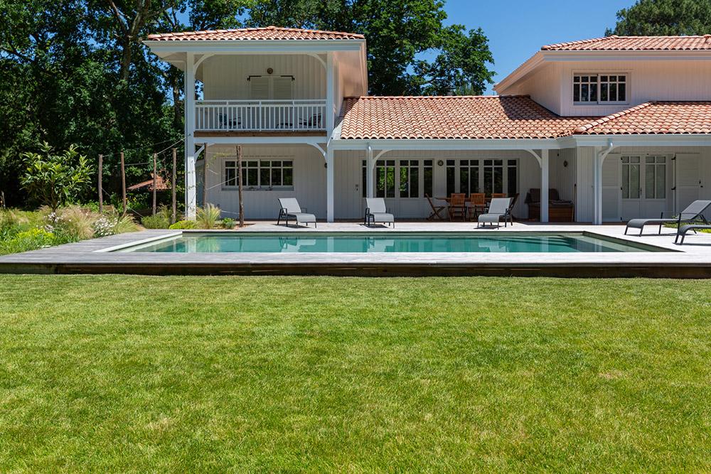 Piscine - Villa au Pyla - Aquitaine Piscines & Finitions