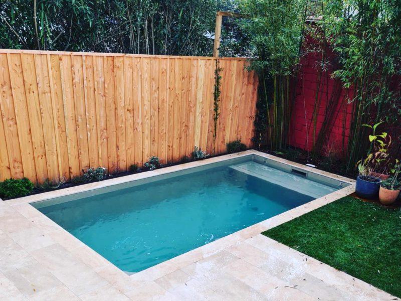 Construction d'une piscine haut de gamme - Echoppe à Talence - Bordeaux Métropole