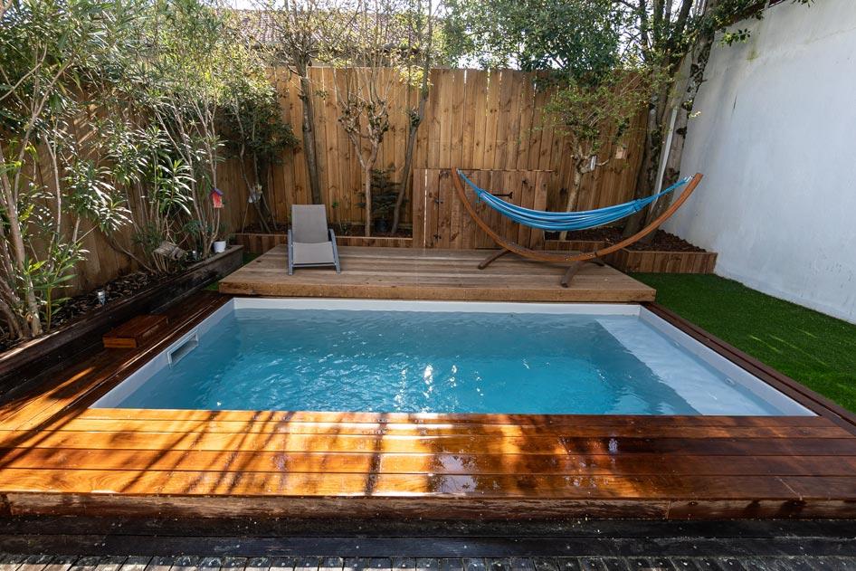 constructeur de piscine à Bordeaux - Terrasse mobile